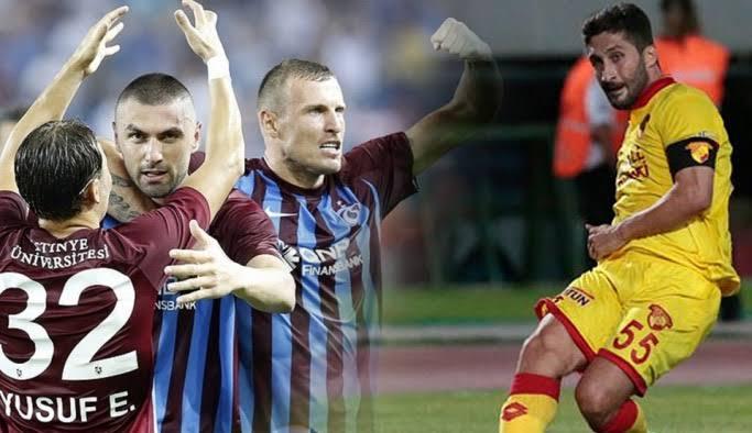 Göztepe Trabzonspor  ile yıllar sonra...