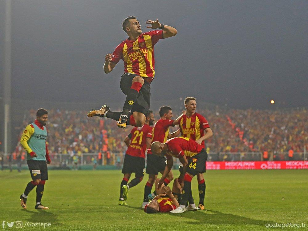 Göztepe, Süper Lig'e damga vuruyor!
