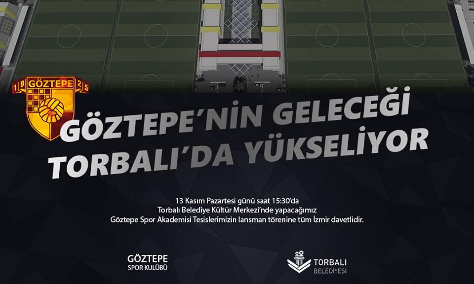Göztepe'nin Dev Tesisi Görücüye Çıkıyor