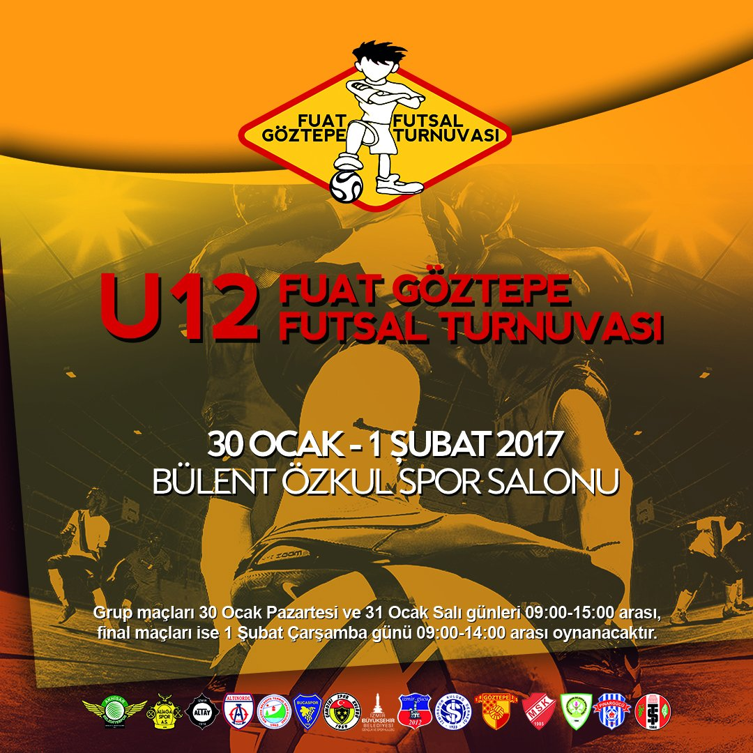 2. Fuat Göztepe Futsal Turnuvası Başlıyor